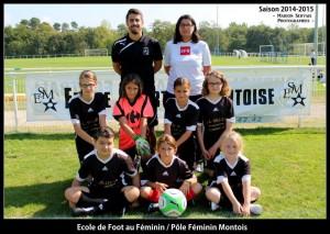 ecole de foot au féminin
